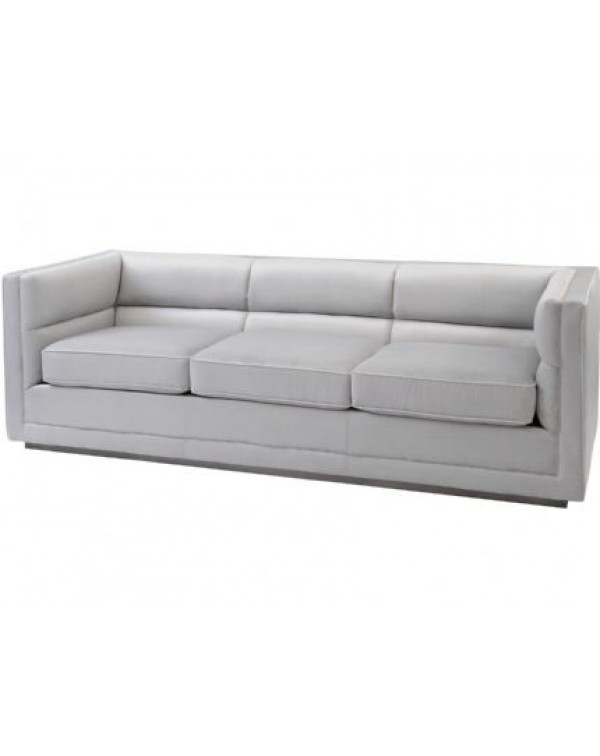 Astell Light Grey Three Seater Sofa